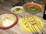 Repas libanais