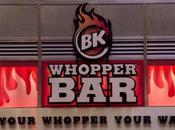 Whopper Bar, temple Burger King York
