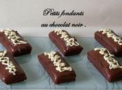 Petits fondants chocolat noir Ronde interblog