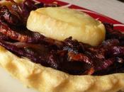 Tartelettes oignons rouges champignons
