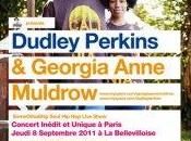 DUDLEY PERKINS GEORGIA ANNE MULDROW Live Show Warm Psycut Paris