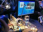 Intel fait fonctionner processeur l'énergie solaire