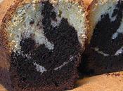 Cake marbré cacao