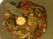 recette Ratatouille confite l'ail