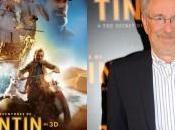 Steven Spielberg livre Tintin