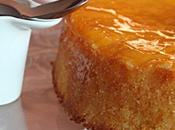 Gâteau citron vert mangue