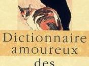 Dictionnaire amoureux chats