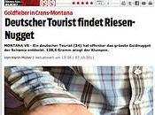 touriste allemand aurait trouvé l'or dans Tièche, Crans-Montana