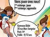 Initiaton gratuite handball féminin samedi matin Didot