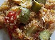 Quinoa légumes légumineuse
