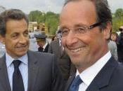Face face Hollande Sarkozy