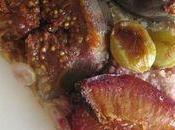 Tarte figues, prunes raisins