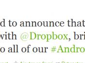 Dropbox proposent stockage