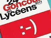 Délibérations régionales Goncourt Lycéens 2011