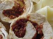 Escalope poulet farcie tomate séchée