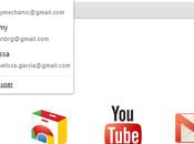 multi-compte dans bêta Google Chrome