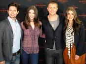 Ashley Greene, Nikki Reed, Jackson Rathbone Charlie Bewley Breaking Dawn Concert Tour