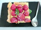 Tarte fraises express, crème pâtissière...