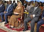 Dominique Ouattara apporte soulagement victimes région Montagnes