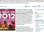 Best 2012 Lonely Planet, avoir impérativement dans valise