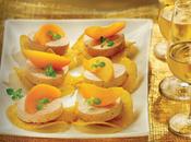 Toast foie gras abricot