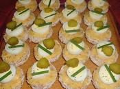 Canapés oeufs caille
