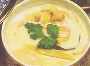 recette Noix coco (recette thaïlandaise) Soupe poulet parfumée citronnelle galanga