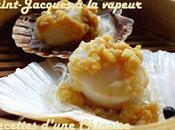 Saint-Jacques vapeur l'ail vermicelles 蒜茸粉丝蒸扇贝 suànróng fěnsī zhēng shànbeì