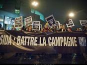 "Manifestation ""Sida 2012 Battre campagne Paris."