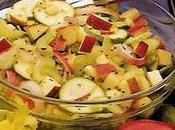 Salade pommes croquantes