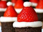 brownie déguisé Père Noël...