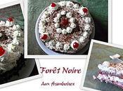 Forêt Noire framboises