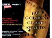 Golden Globe awards retransmis direct nuit janvier 2012