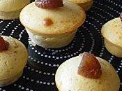 Muffins vanillés marrons (crème marron, glacés)