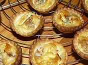 tartelettes roquefort noix