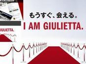 Giulietta arrive Japon