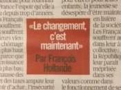 Quand Hollande droite émoi