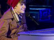 Justin Bieber fait carton Times Square (Vidéo)