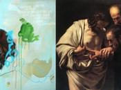 L'Incrédulité Saint Thomas Caravage revisité Lionel Pratt
