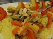 Plat: Brochettes Poulet Ananas Poivron Miel