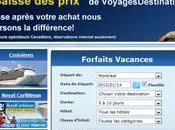 Sélection Site voyage forfaits Agences Québec Forfaits dernière minute