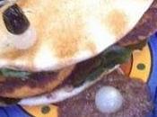 Burger saumon pesto tapenade