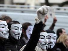 Manifestation Anonymous France