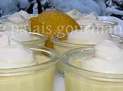 Verrines douceur citron mascarpone