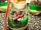 Cheesecake kiwi verrine