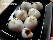 Tang Yuan pour fête lanternes: sésames noirs, haricots rouges vert