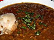 Chorba aadess soupe lentilles