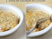 Pavés saumon croûte
