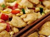 poulet noix cajou, rien plus simple mais tellement bon!