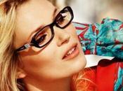 Kate Moss, égérie lunettes Vogue